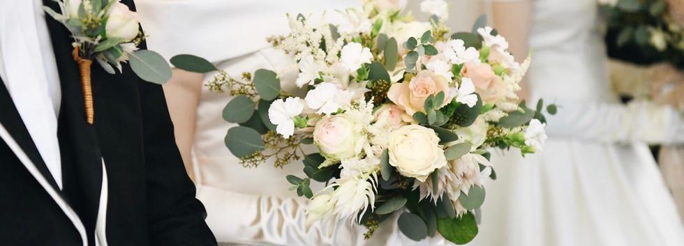 Wedding Bouquet_White&Pink