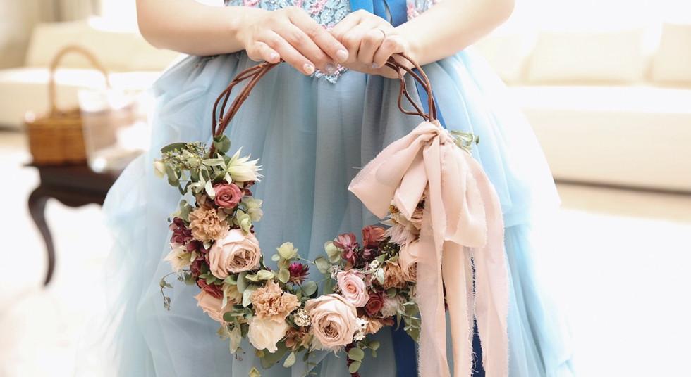 Wreath Bouquet_Pink