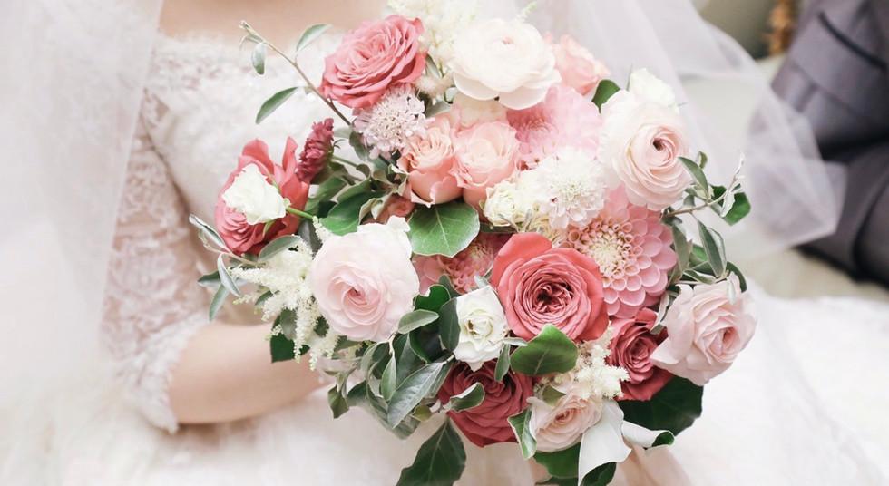 Wedding Bouquet_Pink_#2