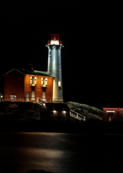 The Light House At Night