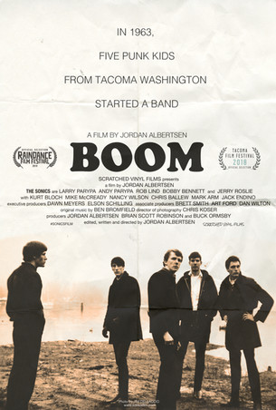 BOOM! A Film About The Sonics (Feature Documentary)