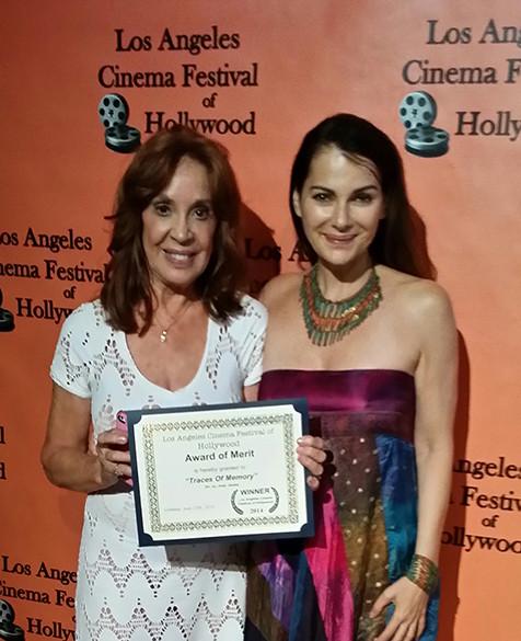 Traces of Memory's 1st Festival, 1st Win!!  LA-Cinema, w/ Dani.jpg