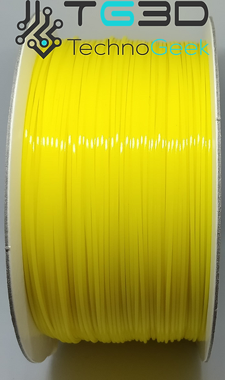 Yellow 1.75mm PLA Filament