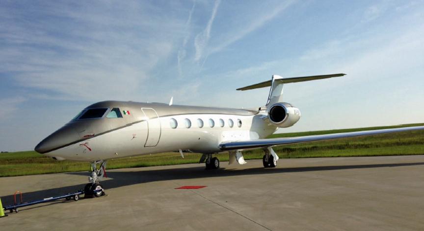 2014 Gulfstream G550 MSN 5464.png