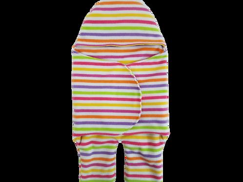 Car seat wrap - Pram wrap - Car seat blanket - Baby wrap - Hooded blanket