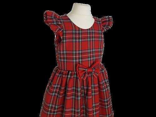 Baby Girls Red Tartan  Royal Stewart