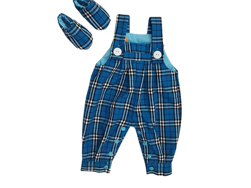 0-3 m Baby Tartan Outfit
