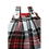 Thumbnail: Dungarees - Romper- Booties- White Tartan outfit