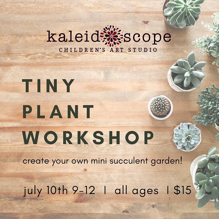 Tiny Plant Workshop