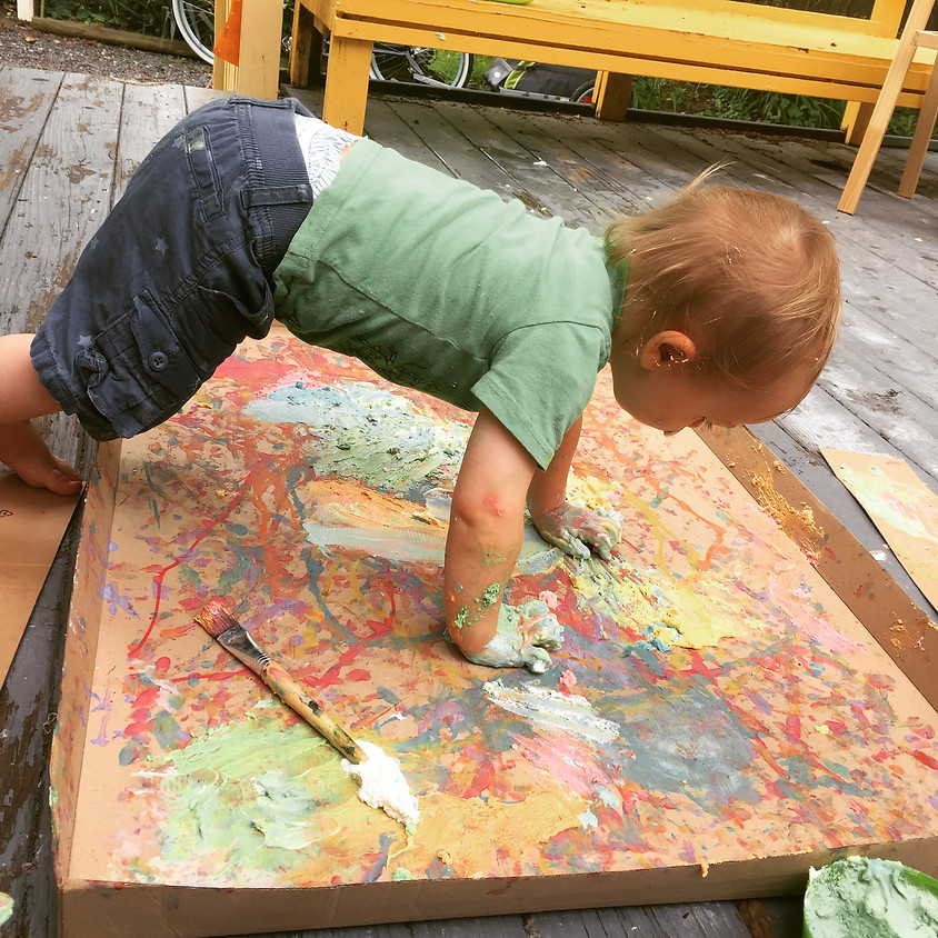 Crayons & Coffee Playgroup: Ages 6 months-2.5yrs