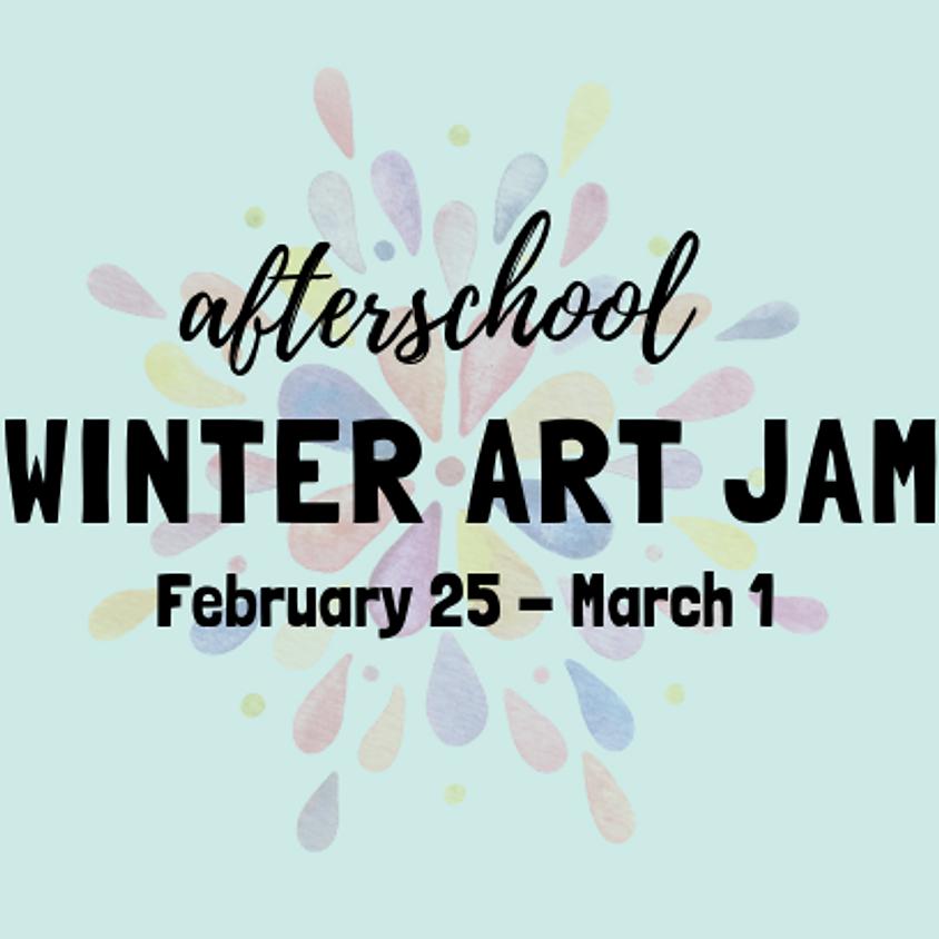 After-School Winter Art Jam: Ages 5-12
