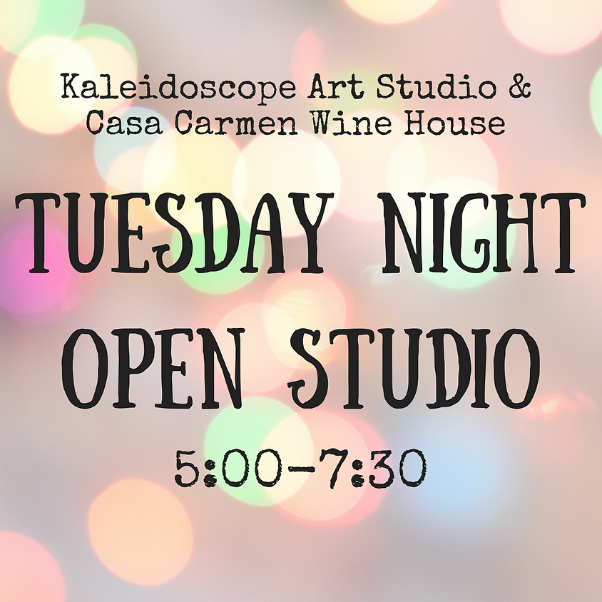 Tuesday Night Open Studio