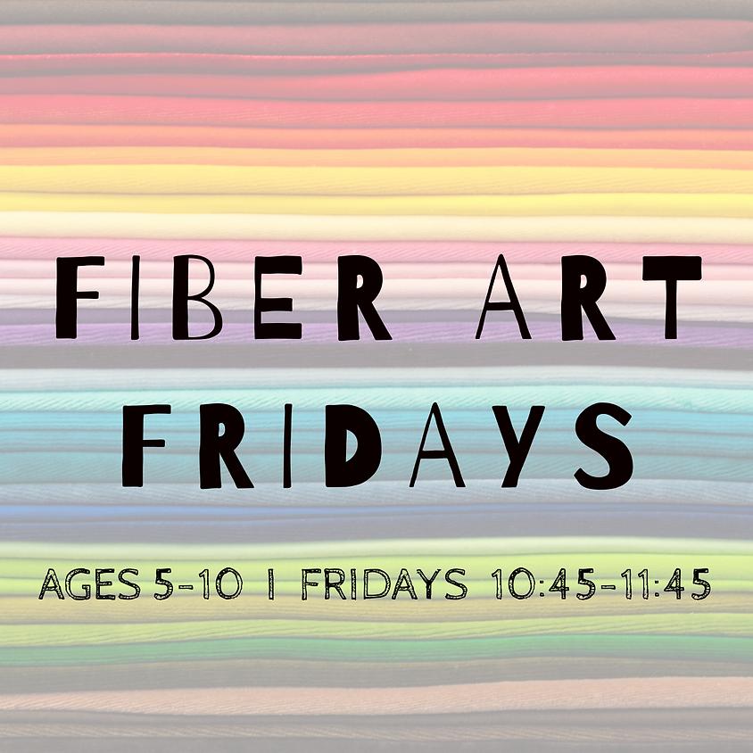 Fiber Art Fridays: Ages 5-10