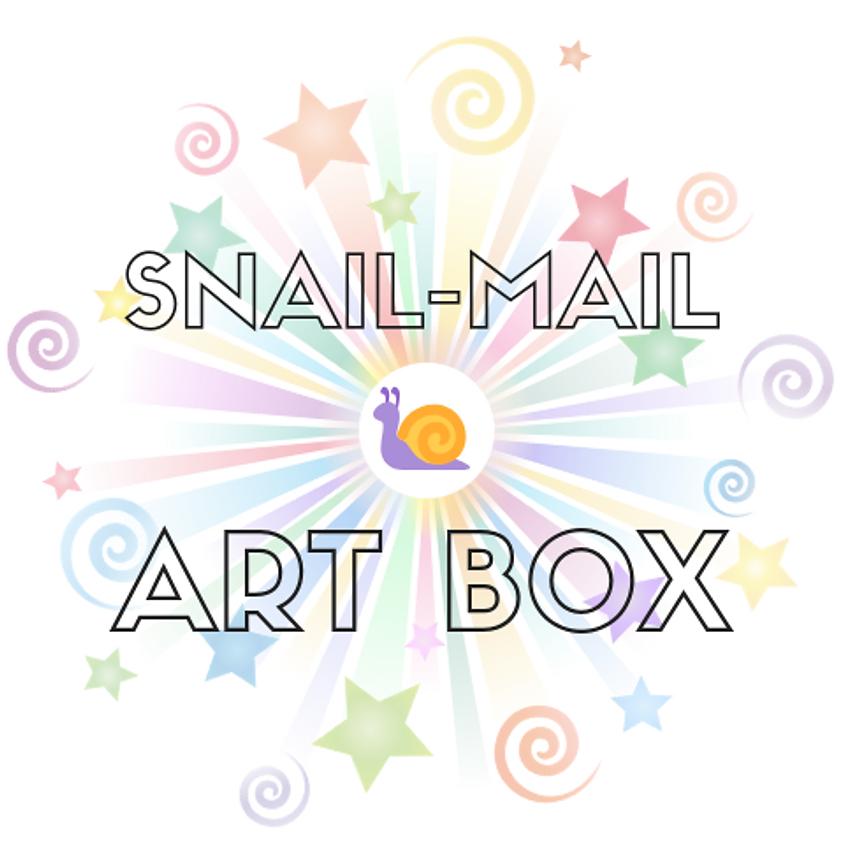 Snail-Mail Art Box Workshop: Ages 5-12