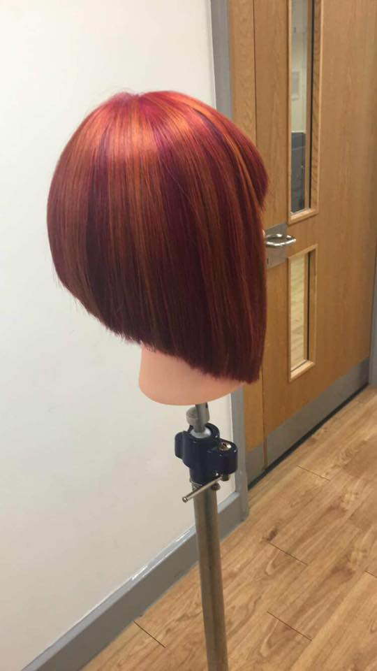 Well done to Emily for making it through to the next round of the UK skills hairdressing regional finals!
