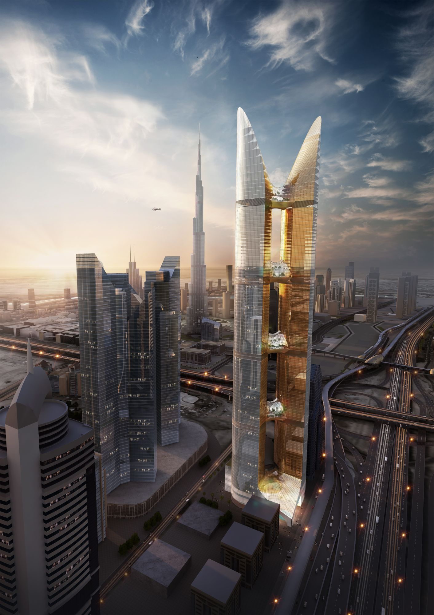PERKINS+WILL | HYPAR TOWER
