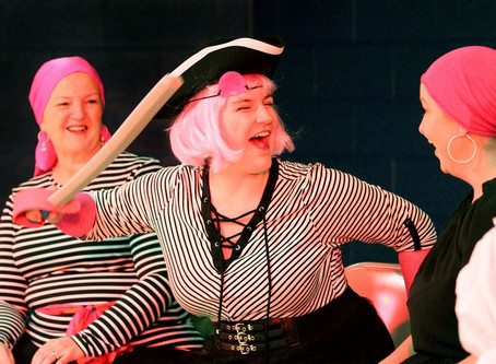 Stage review: Local actresses put on poignant 'Pirates' in Seekonk