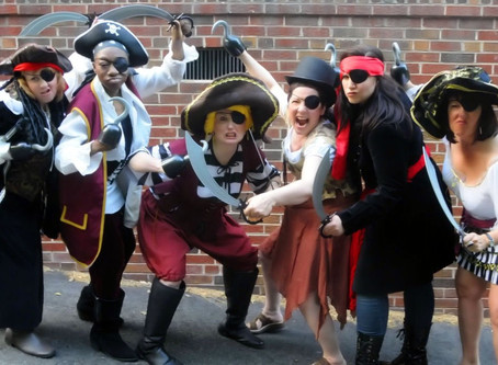 Set Sail with Pirates of the Chemotherapy