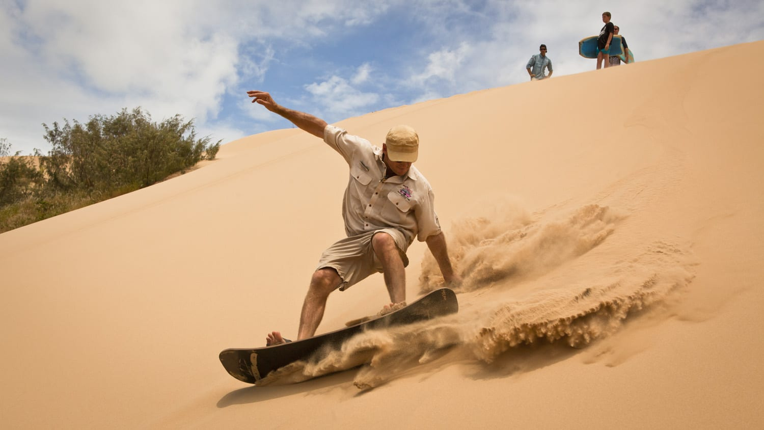 Sandboarding Agnes Water 1770 Tours Southern Great barrier Reef