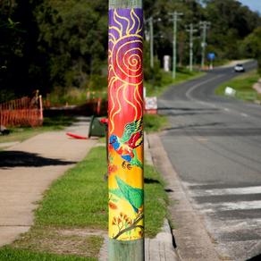 Explore Agnes Water's Power Pole Art Trail