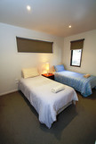 Bedroom 2 - 2 x single beds with ensuite