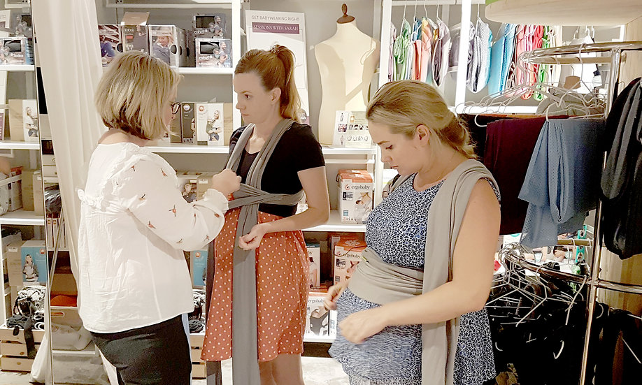 Pregnancy Babywearing Consultation