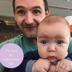 Frikkie and Esjay love babywearing