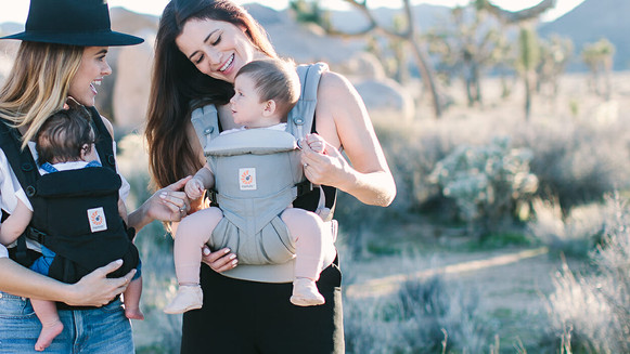 Outward Facing Babywearing