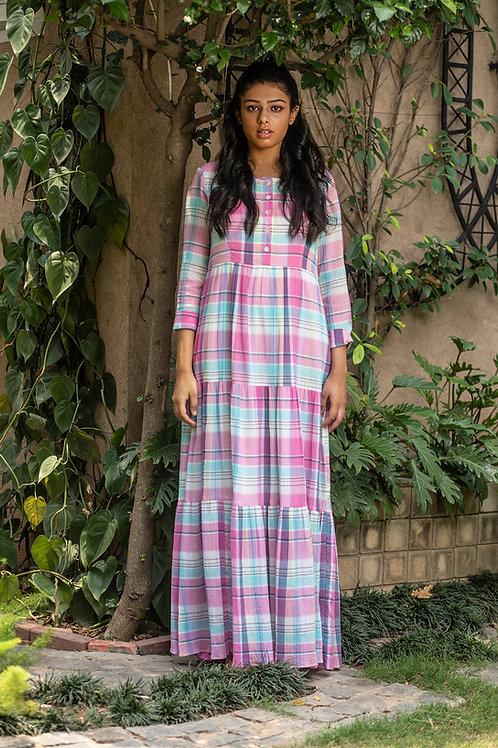 Pink Picnic Maxi Dress