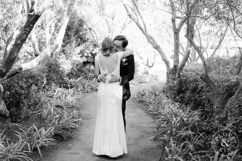 first look wedding