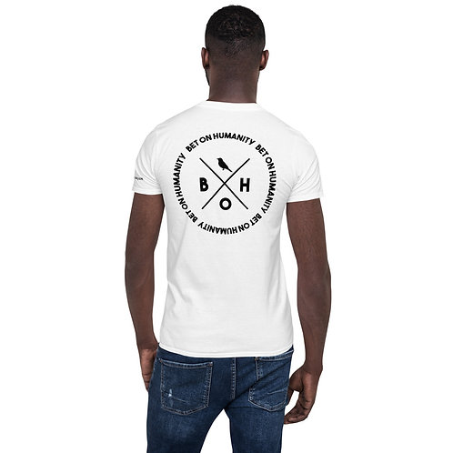 Short-Sleeve Men's White T-Shirt