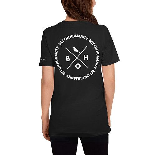 Short-Sleeve Women's Black T-Shirt