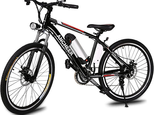 ANCHEER 500W/250W Electric Bike Adult Electric Mountain Bike