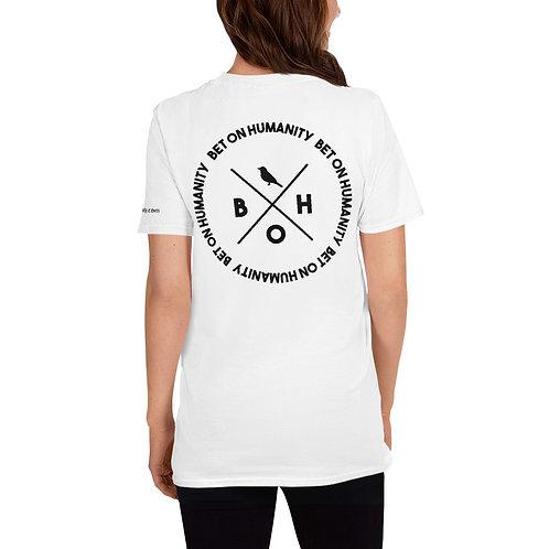 Short-Sleeve Women's White T-Shirt