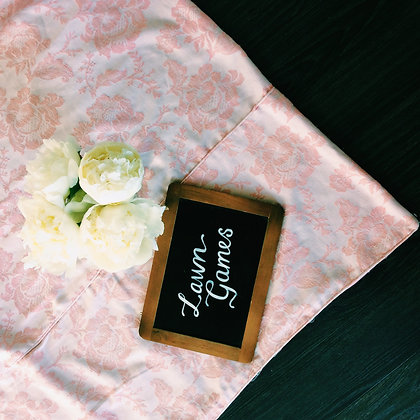 Vintage Rose Mini Picnic Blankets