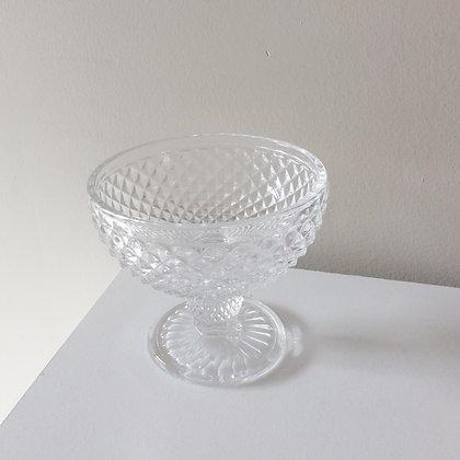 Small Crystal Stem Dish
