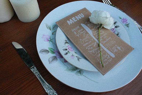 Vintage Miss-matched Dinner Plates