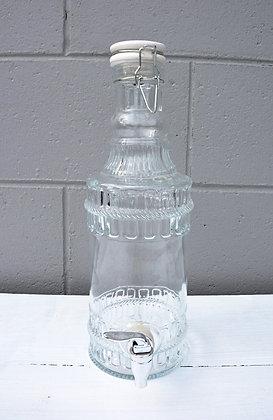 Small Glass Drink Dispenser
