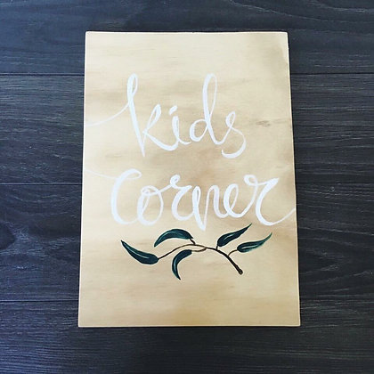 "Olive Leaf Collection - ""Kids Corner"""