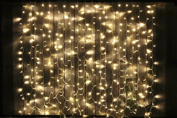 Large Fairy Light Curtain