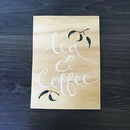 "Olive Leaf Collection - ""Tea & Coffee"""