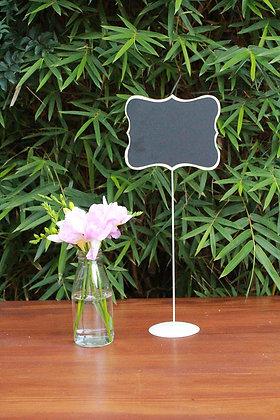 Large Flourish Table Chalkboard