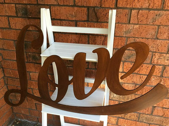 Large Wooden LOVE Sign