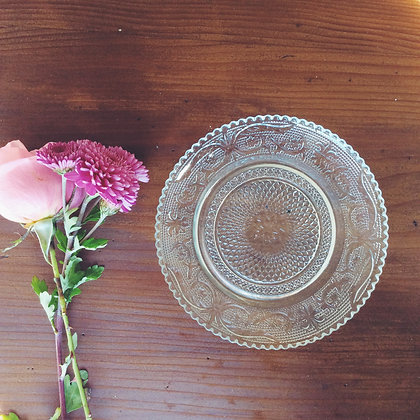 Crystal-style Side Plates