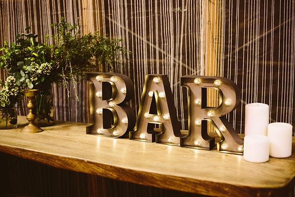 BAR Letter Light Set