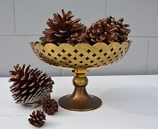 Brass Stem Bowl