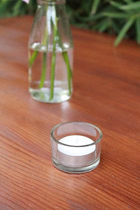 Plain Glass Tealight Holders