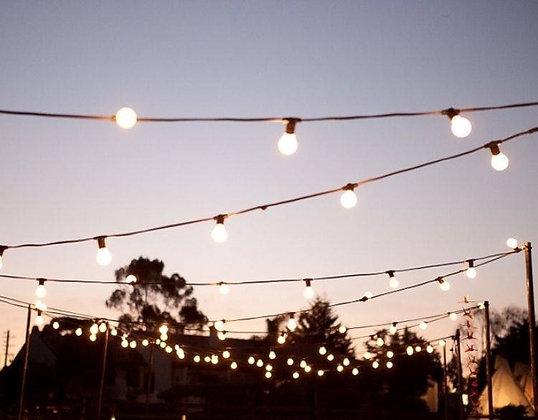 20m Festoon String Lighting