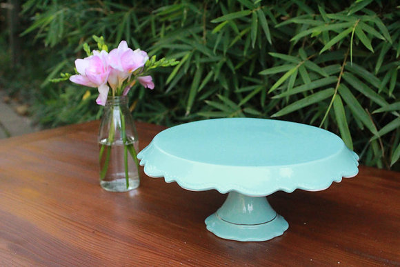 Mint Blue Cake Stand