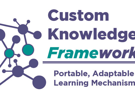 Custom Knowledge Frameworks are Invincible! (okay, not that, but quite adaptable to remote learning)